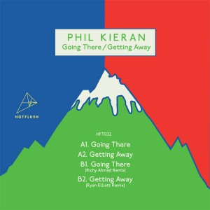 """Phil Kieran/GOING THERE,GETTING AWAY 12"""""""