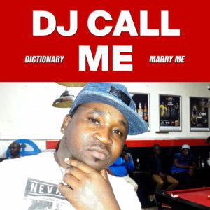 "DJ Call Me/MARRY ME 12"""