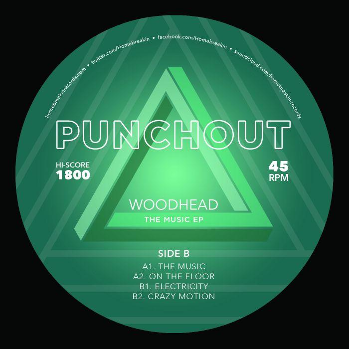 "Woodhead/THE MUSIC EP 12"""