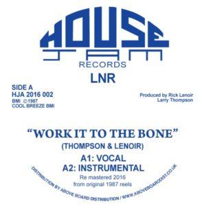 "LNR/WORK IT TO THE BONE 12"""