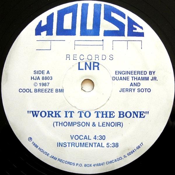 "LNR/WORK IT TO THE BONE (REISSUE) 12"""