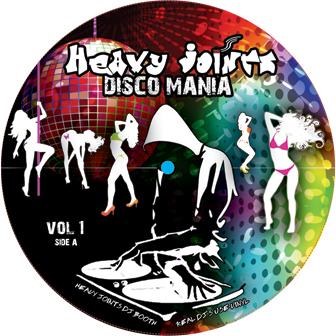 "Various/HEAVY JOINTS-DISCO MANIA #1 12"""