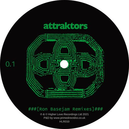 """Attraktors/RON BASEJAM REMIXES 10"""""""
