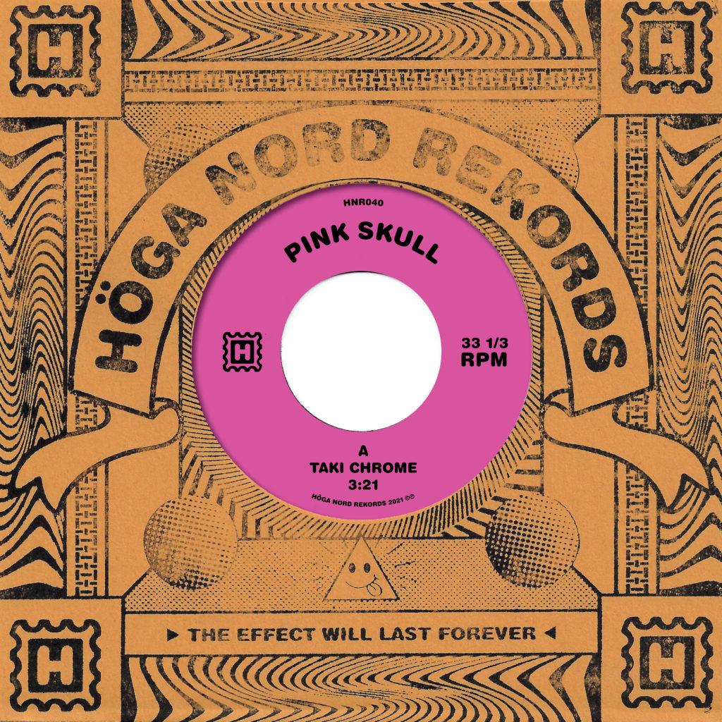 "Pink Skull/TAKI CHROME 7"""