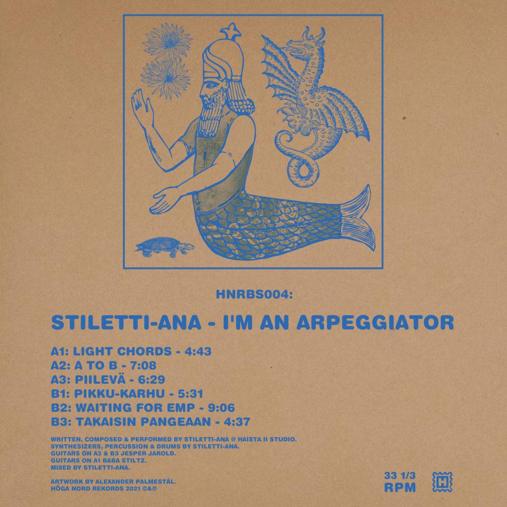 Stiletti-Ana/I'M AN ARPEGGIATOR LP