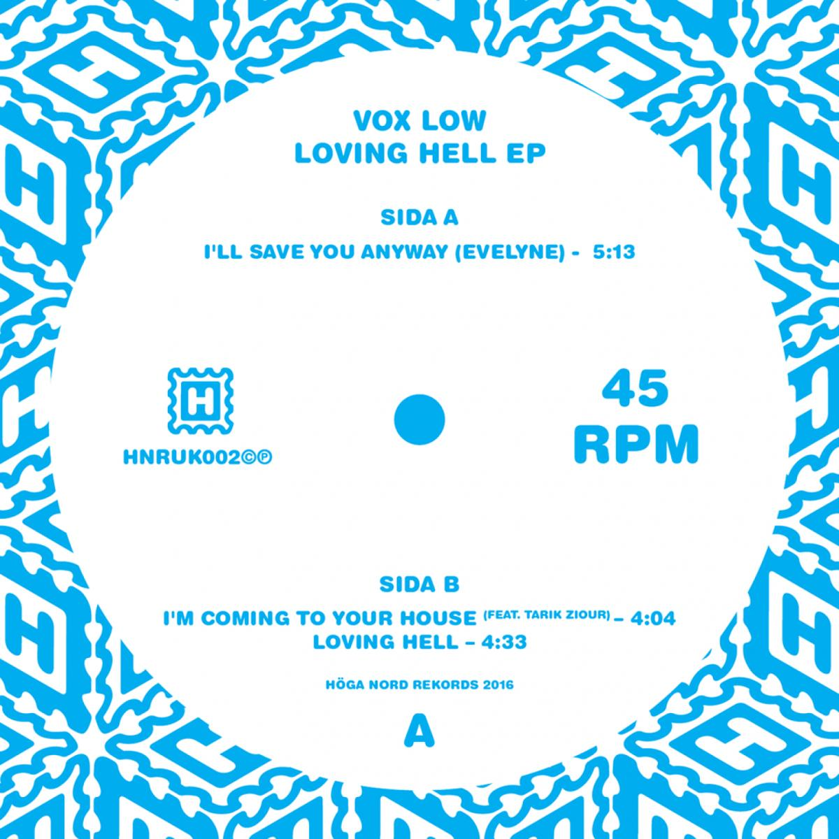 """Vox Low/LOVING HELL EP 12"""""""