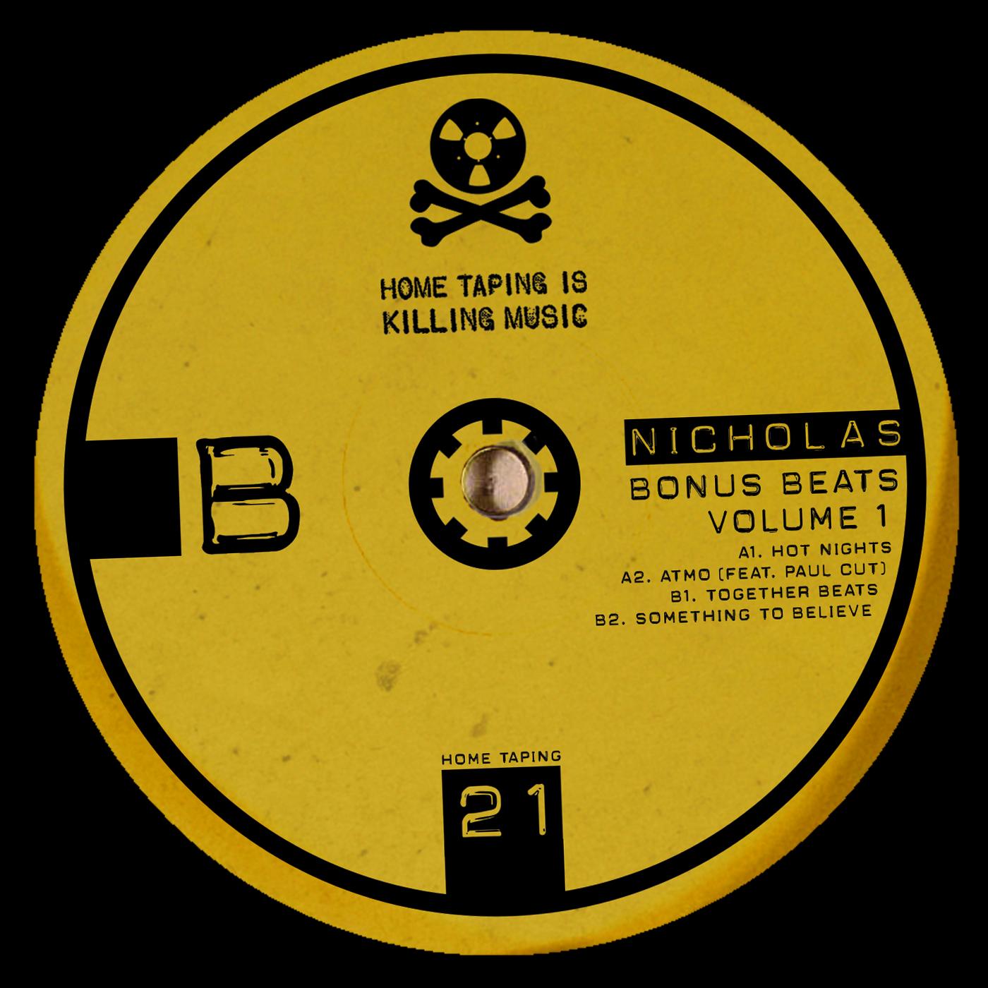"Nicholas/BONUS BEATS VOLUME 1 12"""