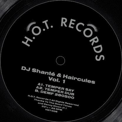"DJ Shante & Haircules/VOL 1 12"""