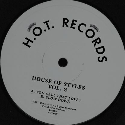 House Of Styles/VOL 2 12""