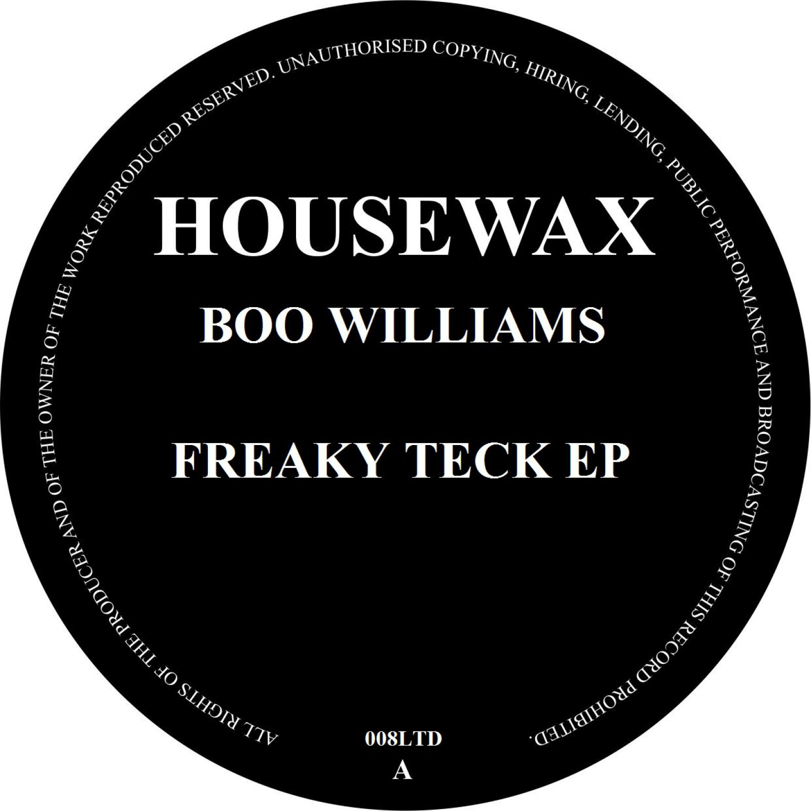 Boo Williams/FREAKY TECK EP 12""