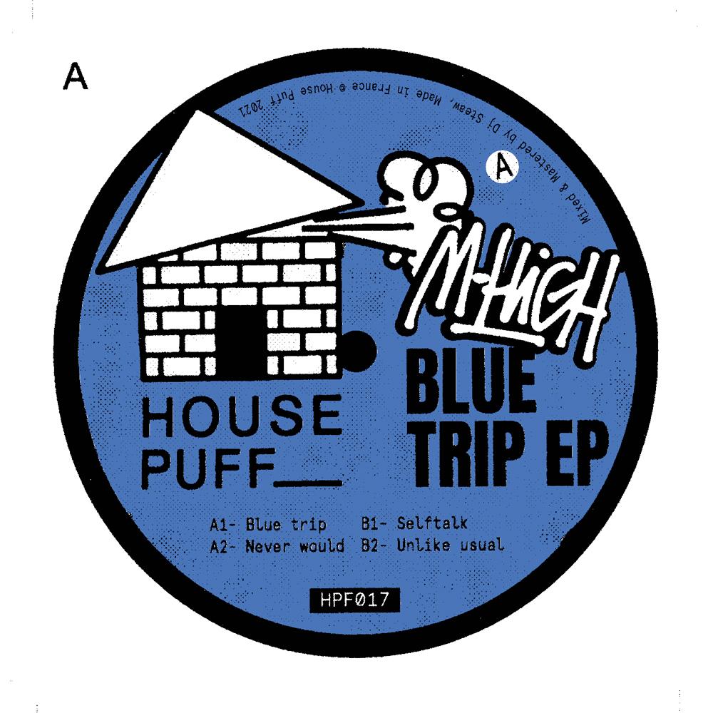"""M-High/BLUE TRIP EP 12"""""""