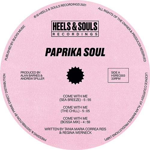 """Paprika Soul/COME WITH ME 12"""""""