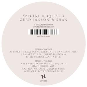 "Special Request/X GERD JANSON & SHAN 12"""