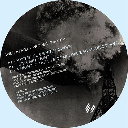 """Will Azada/PROPER TRAXX EP 12"""""""