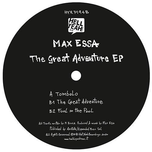 "Max Essa/THE GREAT ADVENTURE EP 12"""