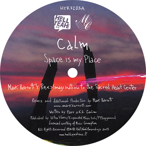 """Calm/BY YOUR SIDE REMIXES PT 2 12"""""""