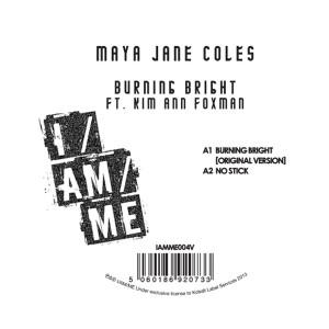 "Maya Jane Coles/BURNING BRIGHT 12"""
