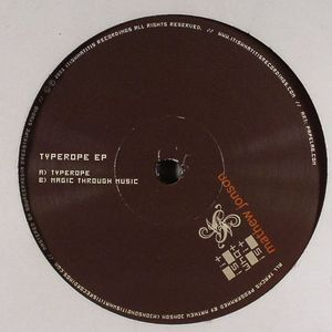 "Mathew Jonson/TYPEROPE EP 12"""