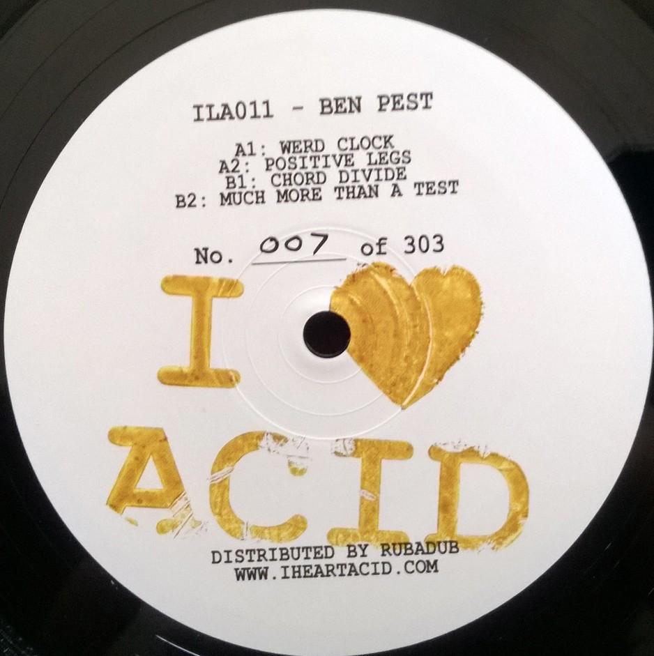 """Ben Pest/I LOVE ACID 011 12"""""""