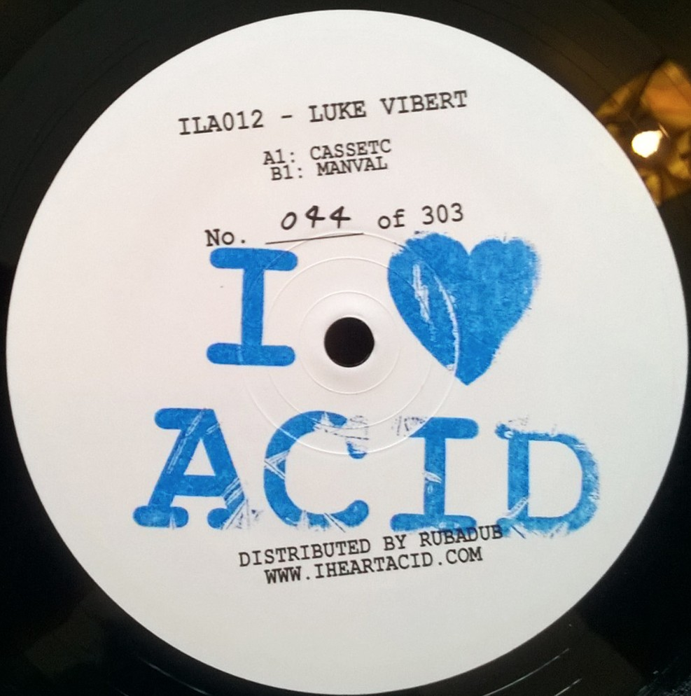 "Luke Vibert/I LOVE ACID 012 12"""