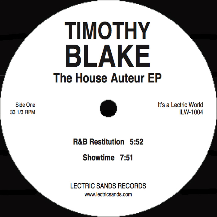 Timothy Blake/THE HOUSE AUTEUR EP 12""