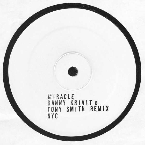 """DK & TS/MIRACLE REMIX (1-SIDED) 12"""""""