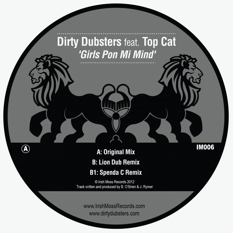 "Dirty Dubsters/GIRLS PON MI MIND  12"""