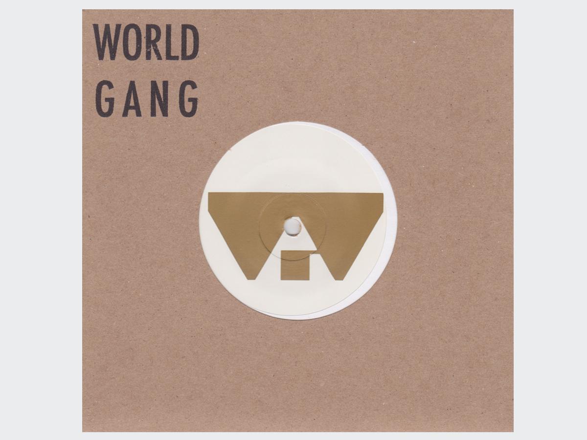 "World Gang/MECHANIC THE MUSHROOM 7"""