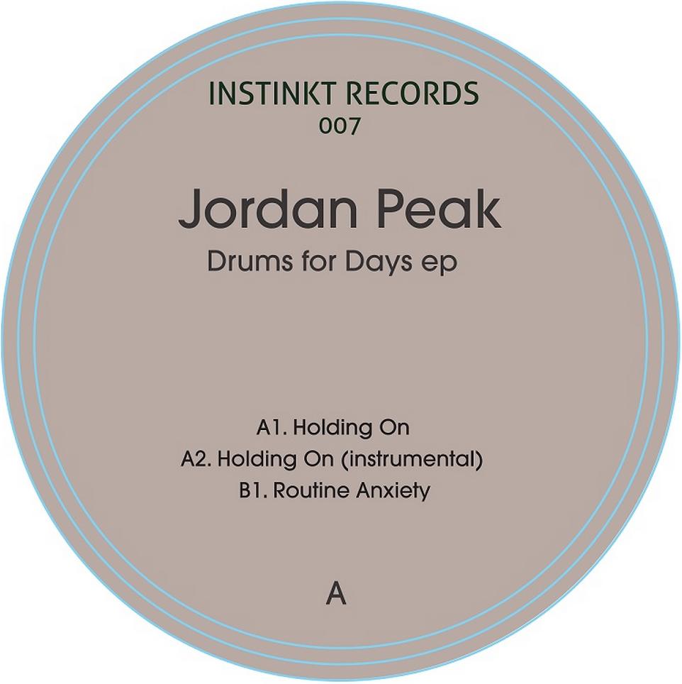 """Jordan Peak/DRUMS FOR DAYS EP 12"""""""