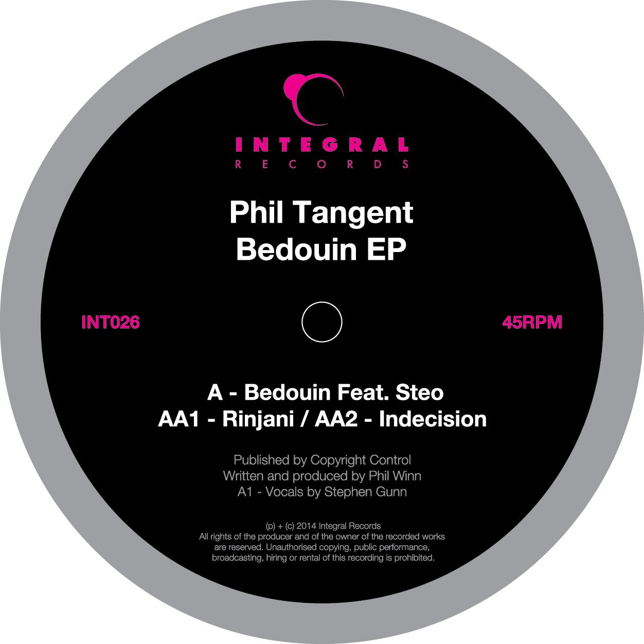 """Phil Tangent/BEDOUIN EP 12"""""""