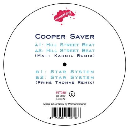 """Cooper Saver/HILL STREET BEAT 12"""""""