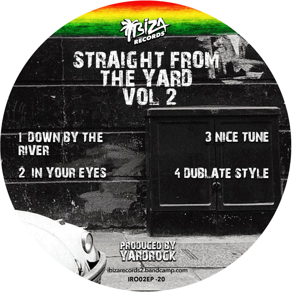 "Yardrock/STRAIGHT FROM THE YARD V2 12"""