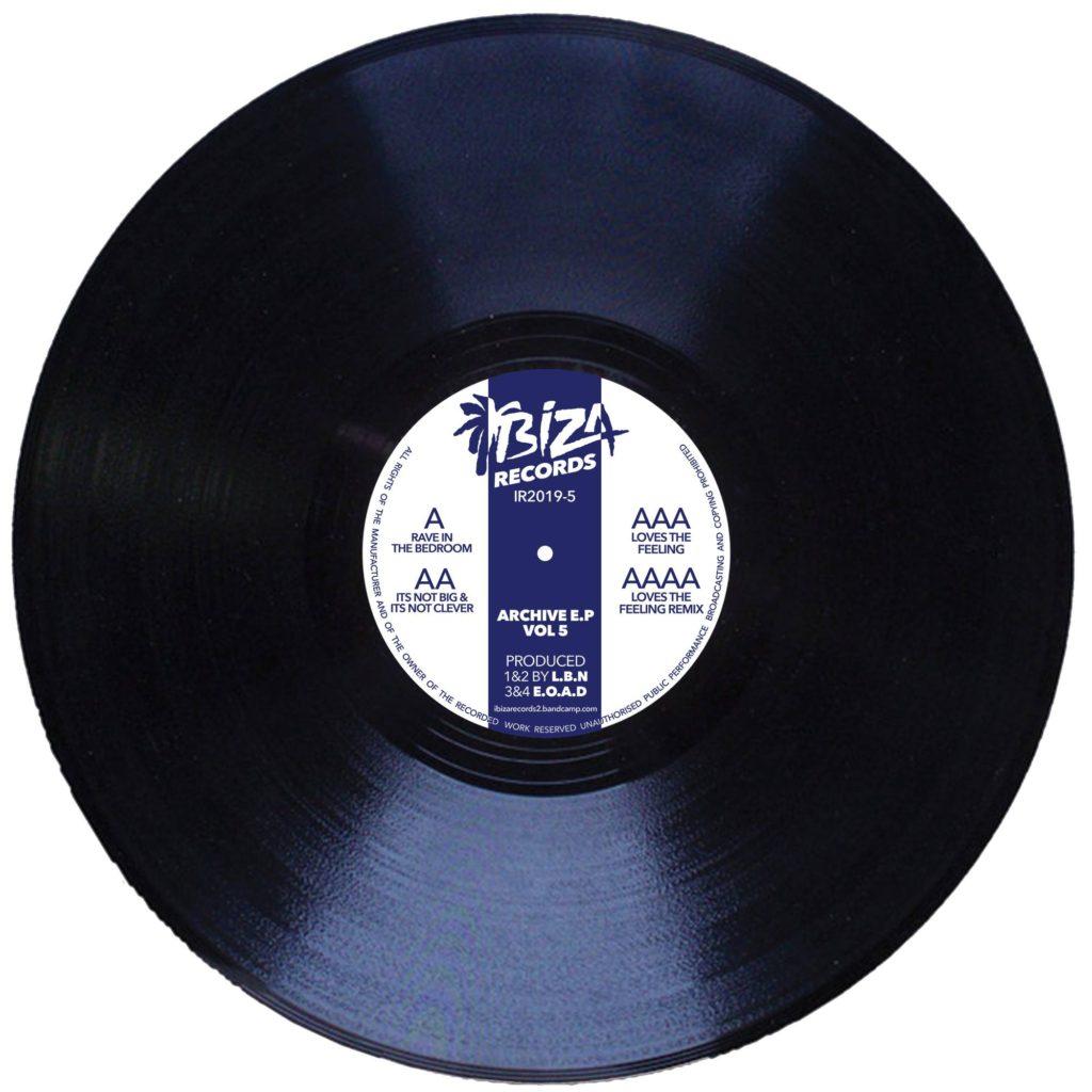 "L.B.N. & E.O.A.D./ARCHIVE EP VOL 5 12"""