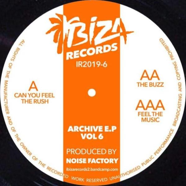 """Noise Factory/ARCHIVE EP VOL 6 12"""""""