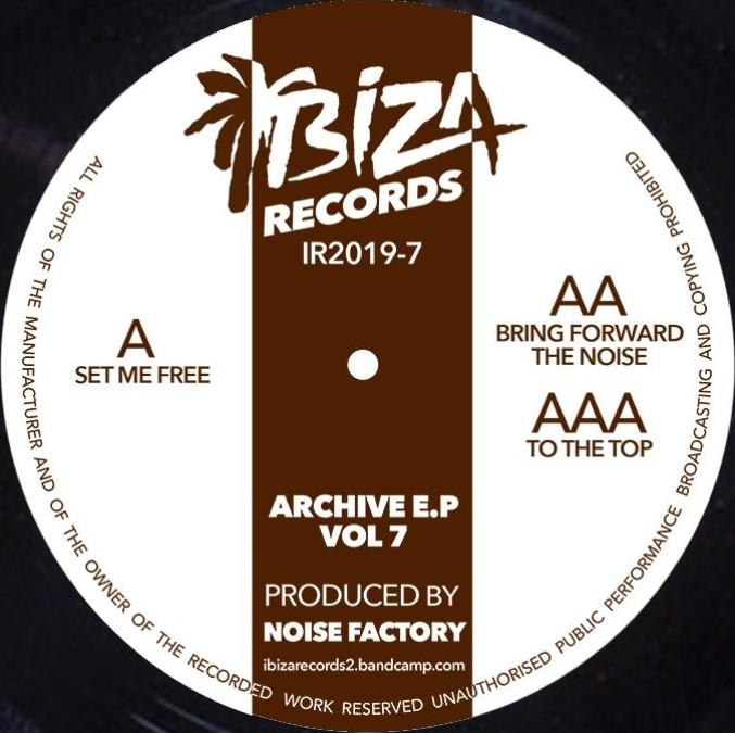 """Noise Factory/ARCHIVE EP VOL 7 12"""""""