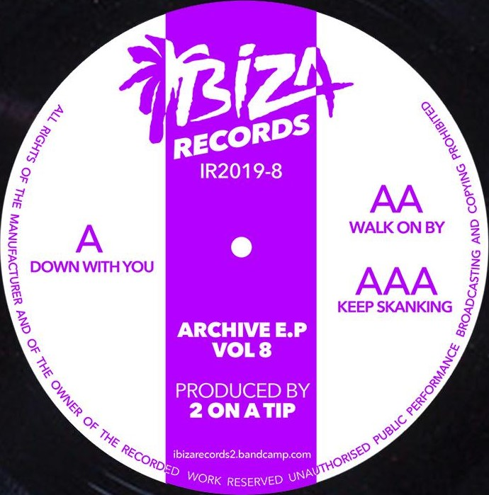 2 On A Tip/ARCHIVE EP VOL 8 12""