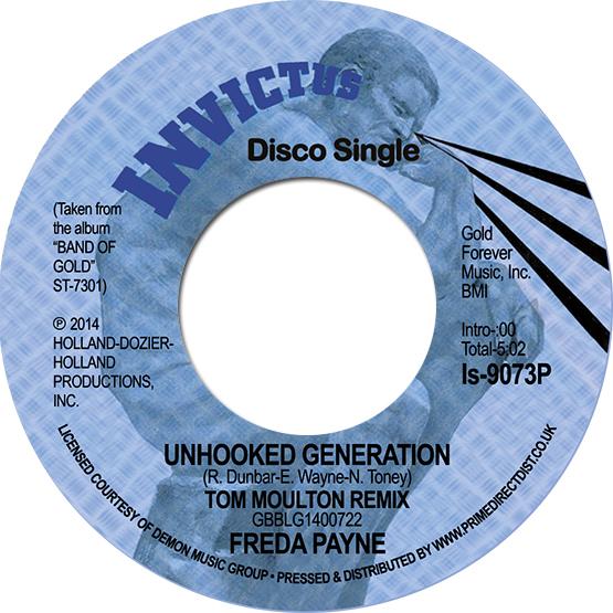 """Freda Payne/UNHOOKED GENERATION 7"""""""