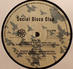 "Social Disco Club/PEACEFUL WARRIOR 12"""