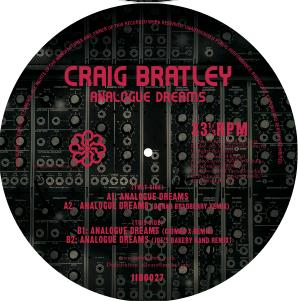 """Craig Bratley/ANALOGUE DREAMS 12"""""""