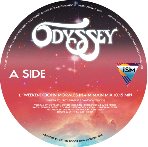 """Odyssey/WEEDEND & INSIDE OUT 12"""""""