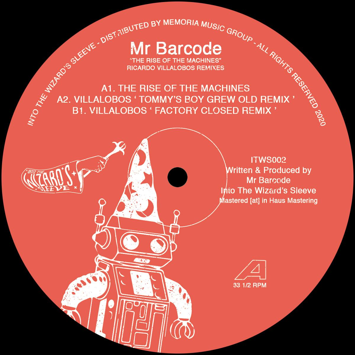 Mr. Barcode/THE RISE OF THE MACHINES 12""