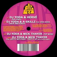 DJ Yoda/DJ YODA & FRIENDS EP 12""