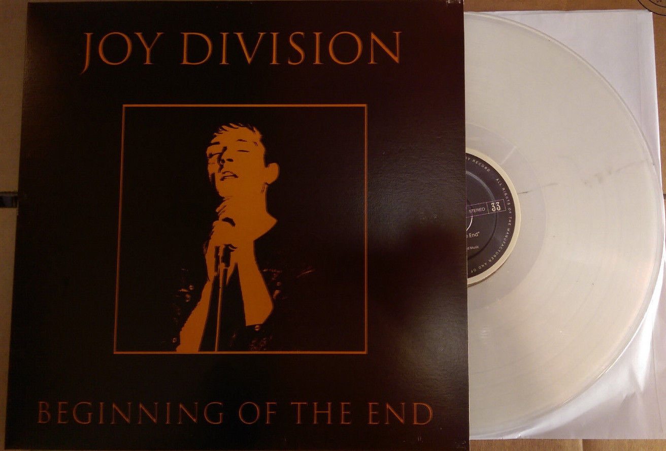Joy Division/BEGINNING OF THE END LP