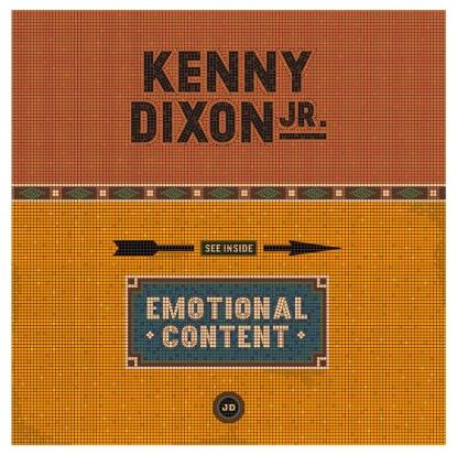 """Kenny Dixon Jr/EMOTIONAL CONTENT RMX 12"""""""