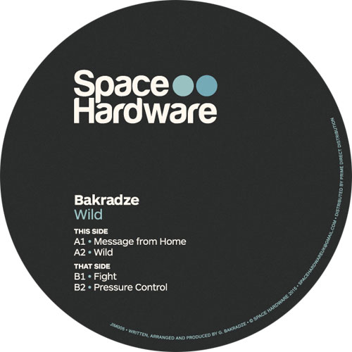 """Bakradze/WILD EP 12"""""""