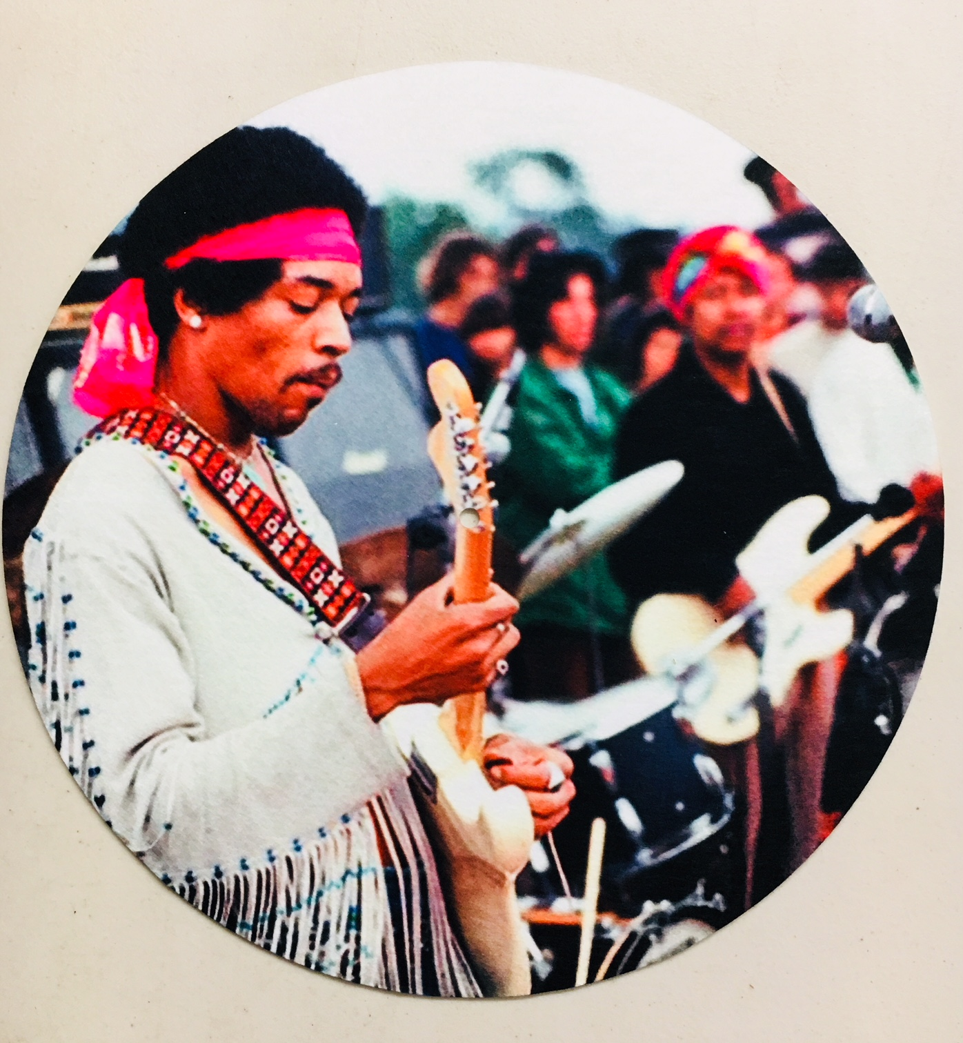 Jimi Hendrix/WOODSTOCK SLIPMAT