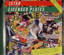 J Star/LICENSED PLATES CD