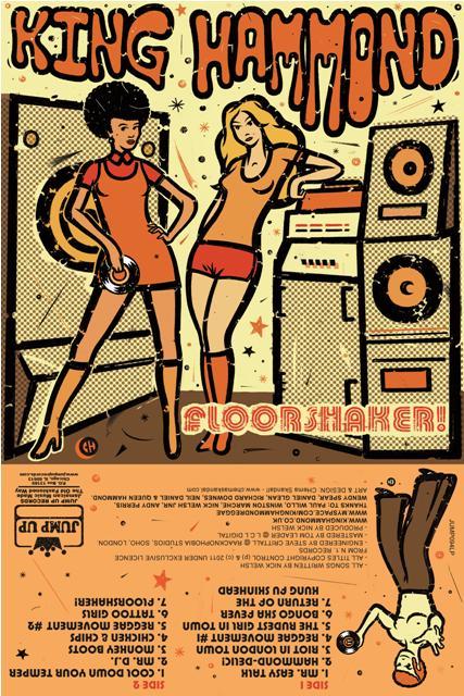 King Hammond/FLOORSHAKER! (YELLOW)  LP