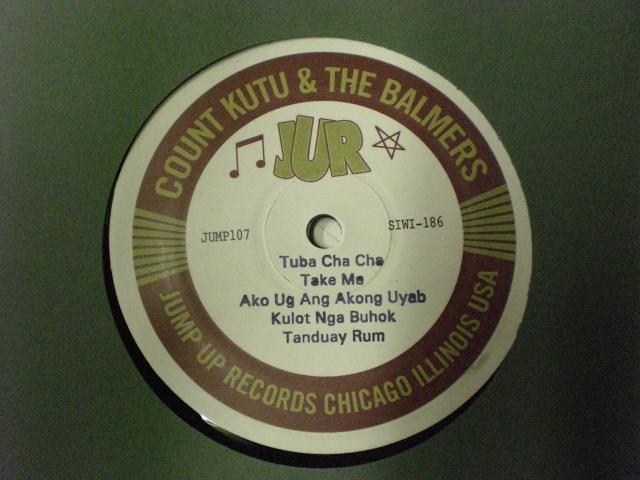 """Count Kutu & The Balmers/TAKE ME 10"""" LP"""