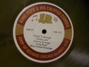 "King Pepe Calypso Combo/TROPICAL 10"" LP"